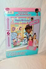 NEW IN PACKAGE DOC MCSTUFFINS DISNEY GIANT SCENE SETTER WALL DECORATION KIT