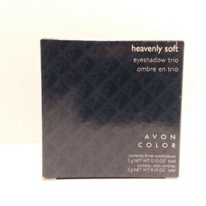 Avon Color Heavenly Soft Eyeshadow Trio - You Choose Shade