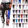 Men's Casual Cargo Baggy Sweatpants Sport Jogger Dancer Bottoms Slacks Trousers
