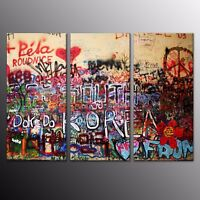 Abstract Canvas Prints Oil Painting Picture Wall Art Home Decor 3 Panels
