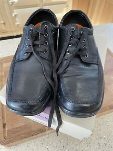 Men's Black Air Floc Shoes From Marks & Spencer Collection Size UK 7