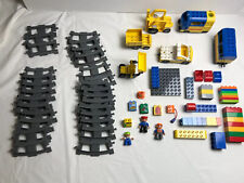Lego Duplo battery operated Train 83578 Lego-Ville construction vehicles lot