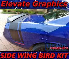 Fits Dodge Challenger Side Wing Bird Stripes Vinyl Graphics 3m Decals 2011 2021