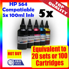 HP 564 Refill bulk Ink 5x100ml C410a C310a C5380 C309a