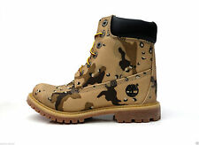 Canvas Camouflage Casual Boots for Women