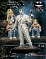 The Joker & Robotic Dolls ~ 35mm Batman Miniatures Game Figures Knight Models