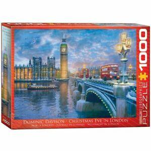 Eurographics Puzzle 1000 Piece Jigsaw - Christmas Eve in London EG60000836