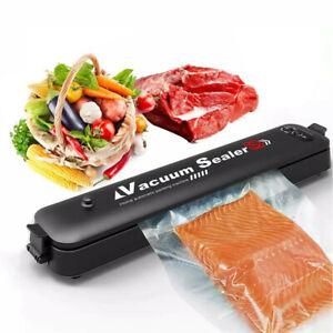 3In1 Vacuum Food Sealer Machine Automatic Manual Vacum Sealer With 10 Bags Hot