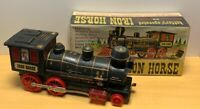 Woolworth Woolco Iron Horse Battery Operated Train with Original Box  VTG 1960's