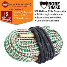 300 .303 .308 .30-06 .30-30 calibre Bore Snake/rifle boresnake limpiador cuerda