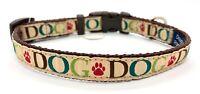 Cute Dog Collar, Small, Douglas Paquette, Adjustable, NEW, FREE SHIP