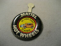 Vintage Hot Wheels Redlines Badge 32 Ford Vicky Classic With Tab
