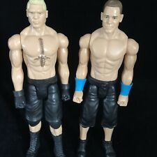 "2 WWE Large 12"" Action Figures Toy (MATTEL/WRESTLERS) Toy Bundle"