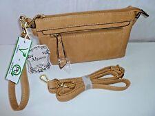 Alyssa Vegan Lead Free Crossbody Bag Women Purse Small Handbag Faux Leather NWT