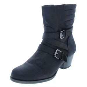 American Living Womens Dinorah Black Booties Shoes 8 Medium (B,M)  5180