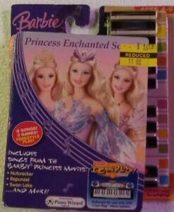 I Can Play Piano Software - Barbie Princess Enchanted Sounds