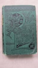 Old Antique Book The Mysterious Island by Jules Verne 1885 FC