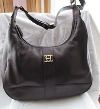 #BEAUTIFUL ETTIENNE AIGNIER BROWN HOBO PURSE handbag clutch