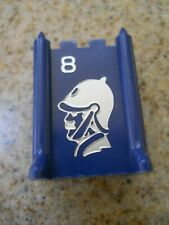 Vintage 1961 Stratego Board Game Blue Piece # 8