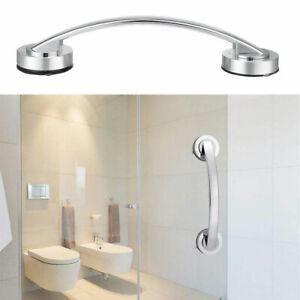 Bathroom Suction Cup Grip Shower Tub Grab Bar Safety Handle Handrail Bath 30cm