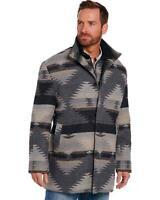 Cripple Creek Men's Grey Navajo Blanket Coat  - CR43949-50