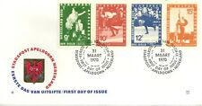 APELDOORN (NETHERLANDS) LOCAL POST FIRST DAY COVER 1970 OLYMPICS