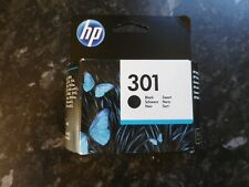 Genuine HP 301 Black Ink Cartridge Standard Size  NEW