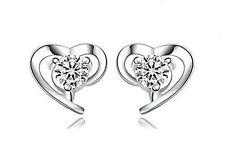 Markenlose Mode-Ohrschmuck aus Stein mit Herz-Schliff
