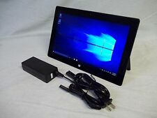 Microsoft Surface Pro 128 Gb i5 4 GB Ram Tablet & Supply Win 10 Tested Working!