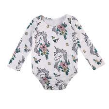 Unicorn Baby Clothes, Romper, Long Sleeved Baby Grow, Bodysuit, Vest 3-6 6-9m