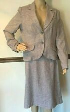 ME George Designs By Mark Eisen Ladies Light Lavender Two Piece Matching Suit