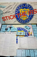 Stick The IRS Tax Shelter Board Game COMPLETE Vintage 1981 Rare CPA Accountant