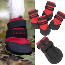 DOG BOOTS Ultra Paws DURABLE RED ALL Weather Repellent Snow Ice Mud Floor MEDIUM