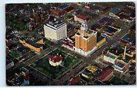 *1940s Aerial View Civic Center Rochester Minnesota Vintage Postcard B70