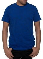 Kenneth Cole Mens T-Shirt Blue Size Medium M Text Quote Graphic Tee Crewneck 146
