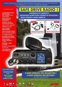 Ricetrasmettitore  INTEK CB 27 Multi-standard con VOX