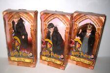 Mattel Dolls Harry Potter 2001 The Sorcerer'S Stone Hogwarts Heroes