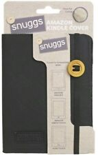 """Snuggs 6"""" Fur Case for Kindle 4 /Kindle 8 Paperwhite 2018 /Kobo Touch Black NEW"""