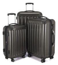 Alex Hauptstadtkoffer Handegpäck Koffer für jede Airline 55x35x20 cm Cyanblau