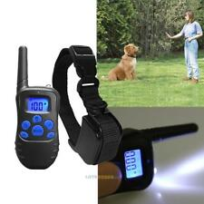 Pet Dog Waterproof Rechargeable LCD Electric Remote Training Shock E-Collar