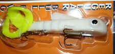 """9"""" Bull Dawg Musky Innovations Pike Lemon Tail Plastic Body Jerkbait Lure"""