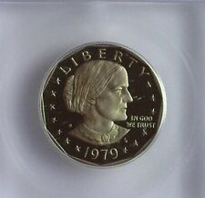 1979-S SUSAN B. ANTHONY DOLLAR -TYPE 2- ICG PR70 DCAM LISTS FOR $175!