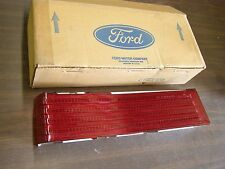 NOS OEM Ford 1975 1978 Mercury Tail Light Lens Lamp Marquis Brougham 1976 1977