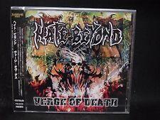 HATE BEYOND Verge Of Death JAPAN CD Grim Force Narcotic Greed Smash The Brain