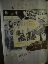 BEATLES Large Promo Poster from ANTHOLOGY 1 in super mint condition WOW!