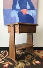 A. Brandt Ranch Oak End Table