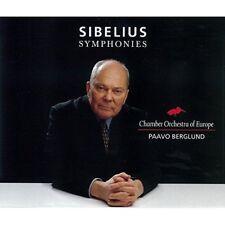 New Paavo Berglund Sibelius Symphonies Chamber Orchestra of Europe CD Japan