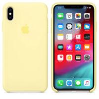 For Apple iPhone XR OEM GENUINE ORIGINAL Apple Silicone Case cover