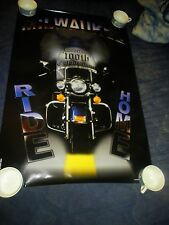 RARE  ORIGINAL Harley Davidson 100th anniversary poster COLLECTORS EDITION 2003