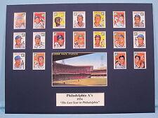 1954 Philadelphia A's - The Last Year in Philadelphia